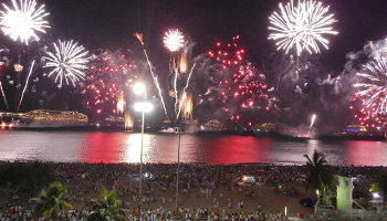 New Years Eve in Copacabana